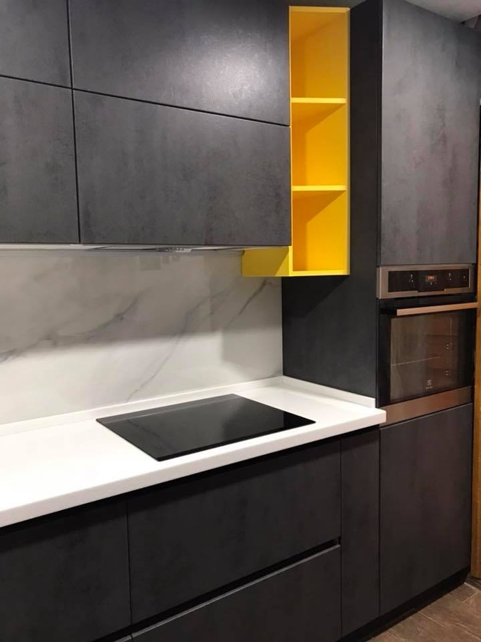 Встроенная кухня-Кухня из пластика «Модель 189»-фото2