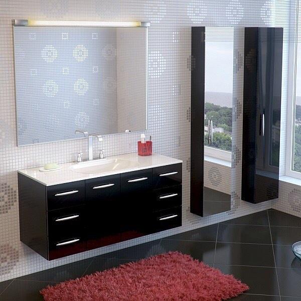 Мебель для ванной комнаты-Мебель для ванной «Модель 4»-фото1