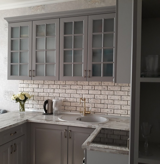 -Кухня МДФ в эмали «Модель 281»-фото11