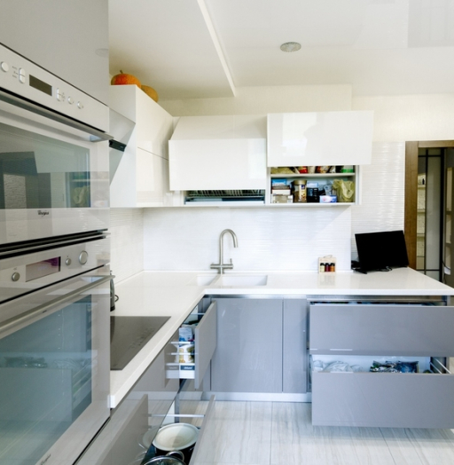 -Кухня из акрила «Модель 411»-фото25