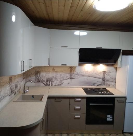 -Кухня МДФ в ПВХ «Модель 38»-фото23