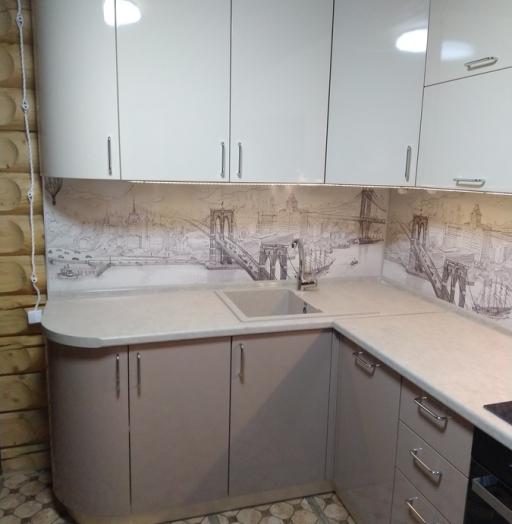 -Кухня МДФ в ПВХ «Модель 38»-фото16