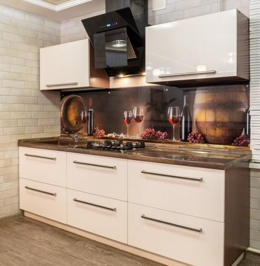 -Кухня из пластика «Модель 2»-фото1