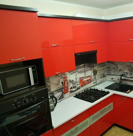 -Кухня из пластика «Модель 138»-фото17