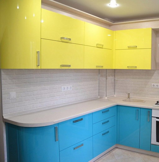 -Кухня МДФ в эмали «Модель 167»-фото24