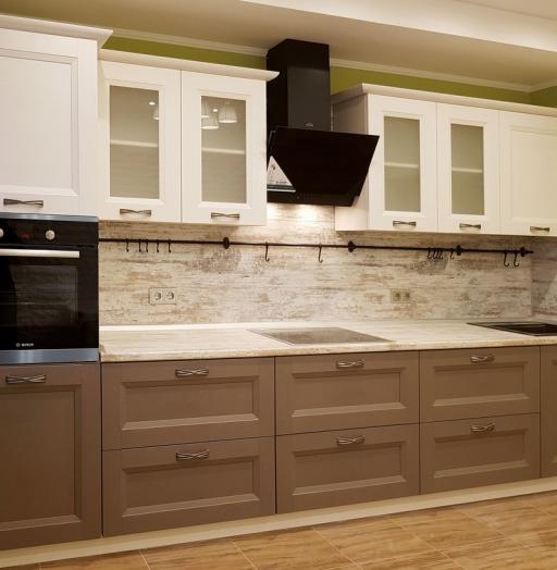 -Кухня из шпона «Модель 25»-фото3