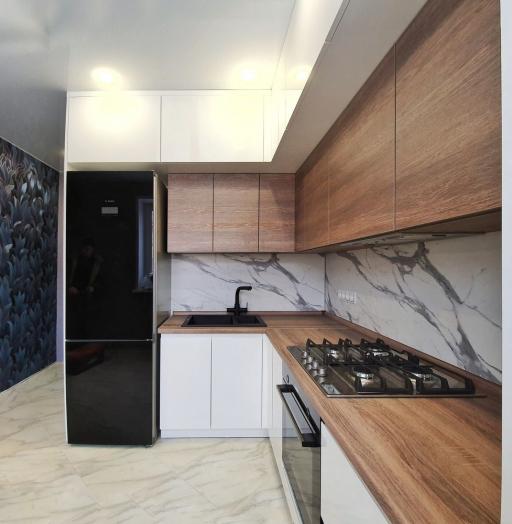 -Кухня МДФ в эмали «Модель 529»-фото18